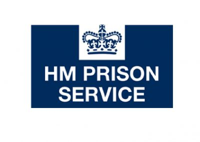 HM Prison Services Logo Tempest Training Sq